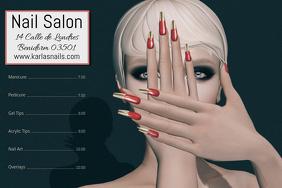 Nail Salon Beauty Poster Template