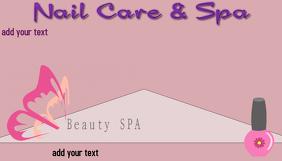 Customizable design templates for nail salon business card nail salon beauty spa hair and nails spa business card colourmoves