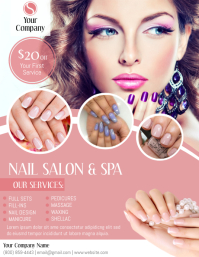 Nail Salon Flyer (US Letter) template