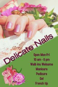 nail salon/manicure/spa/skin/hair/massage