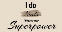 Nails Studio Facebook Ad template