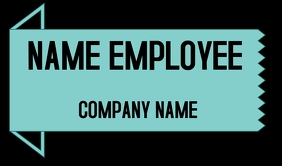 NAME TAG EMPLOYEE