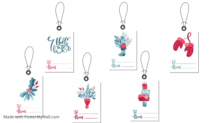Name Tags Template PosterMyWall - Event name tag template
