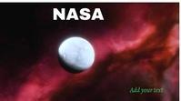 NASA Foto di copertina del canale YouTube template