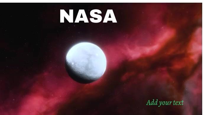 NASA Foto de Portada de Canal de YouTube template