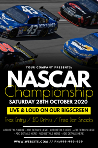 Nascar Championship Poster