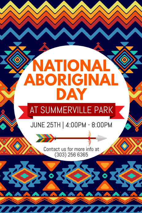 National Aboriginal Day Poster