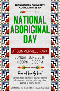 National Aboriginal Day Flyer
