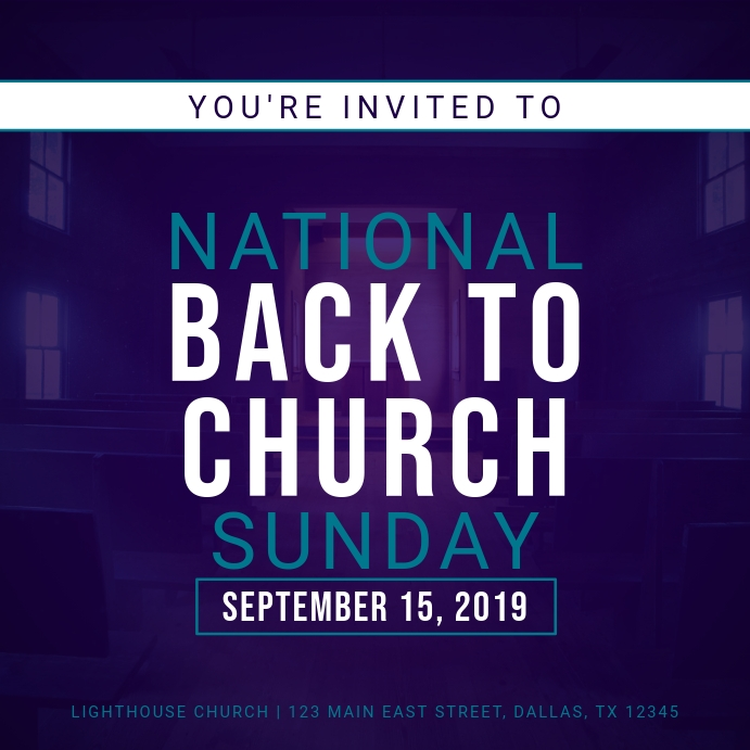 National Back to Church Sunday