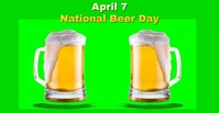 National Beer Day 2021 Facebook Ad Video template