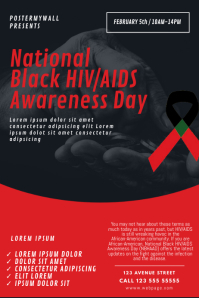 National Black HIV/AIDS Awareness Day Flyer T