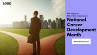 National Career Development Month Header Blog template