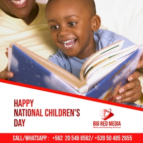 National Children's Day Template