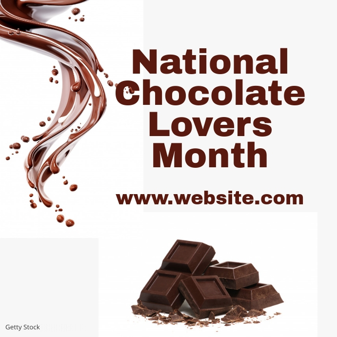 National Chocolate lovers month