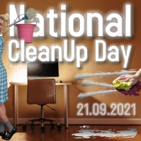 National Clean Up Day Pos Instagram template
