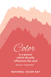 National Color Day Template Pinterest 图片