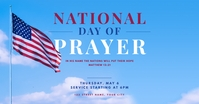 national day of prayer facebook social graphi template
