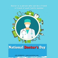 National Doctor's Day Pos Instagram template