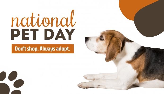 National Dog Day Templates Blog Header