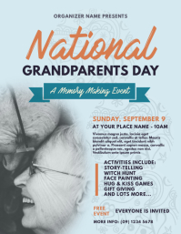 National Grandparents Day Flyer