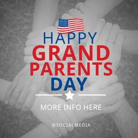 National Grandparents Day Flyer Template