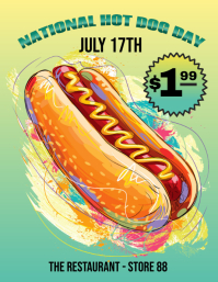 National Hot Dog Day