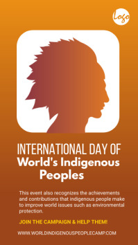 national indigenous day Instagram Story template