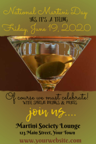 National Martini Day Event