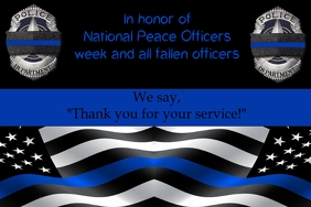National Peace Officers Template