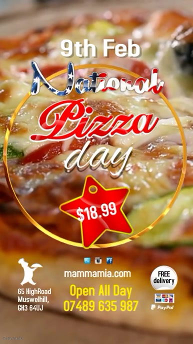 National Pizza Day Video Special