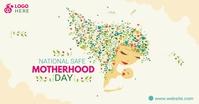 National Safe Motherhood Day Facebook-advertentie template