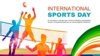 National Sports Day blog header Blog-Kopfzeile template