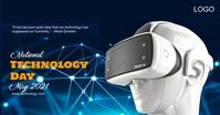 National Technology Day Imagen Compartida en Facebook template