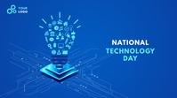 National Technology Day โพสต์บน Twitter template