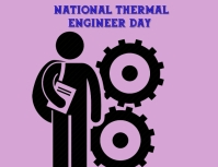 National thermal engineer day Flyer (Letter pang-US) template
