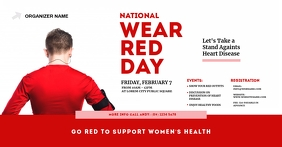 National Wear Red Day Facebook Shared Image