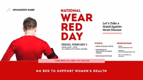 National Wear Red Day Twitter Post