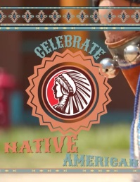 Native American Flyer (US Letter) template