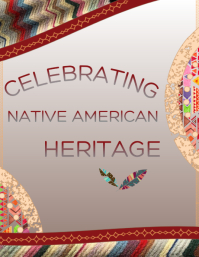 Native American Heritage Flyer (US Letter) template