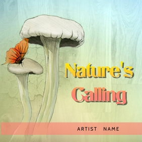 Nature's calling album Cover