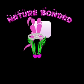 Nature Bonded Art Логотип template