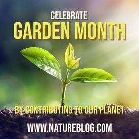 Nature gardening