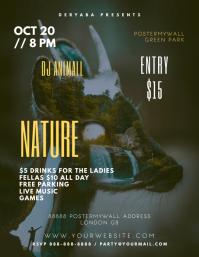 Nature Original Artistic Event Flyer Template