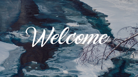 Nature Welcome Church Template