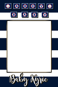 Nautical Party Prop Frame
