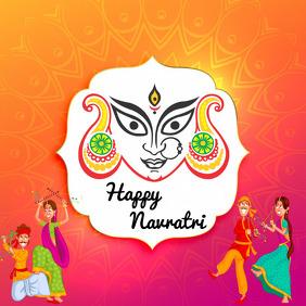 Navratri Banner