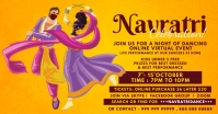 Navratri Dance Event Template Facebook Shared Image