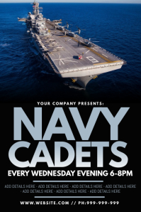 Navy Cadets Poster