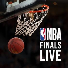 NBA Insta Publicação no Instagram template