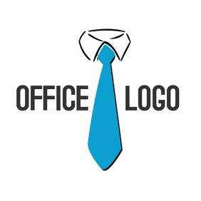 necktie logo template